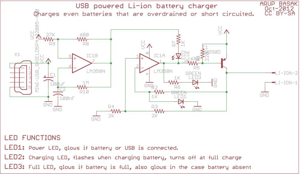 medium resolution of usb li ion charger circuit diagram