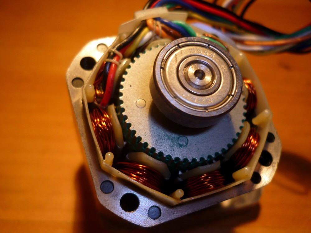 Circuit For Bipolar Stepper Motor