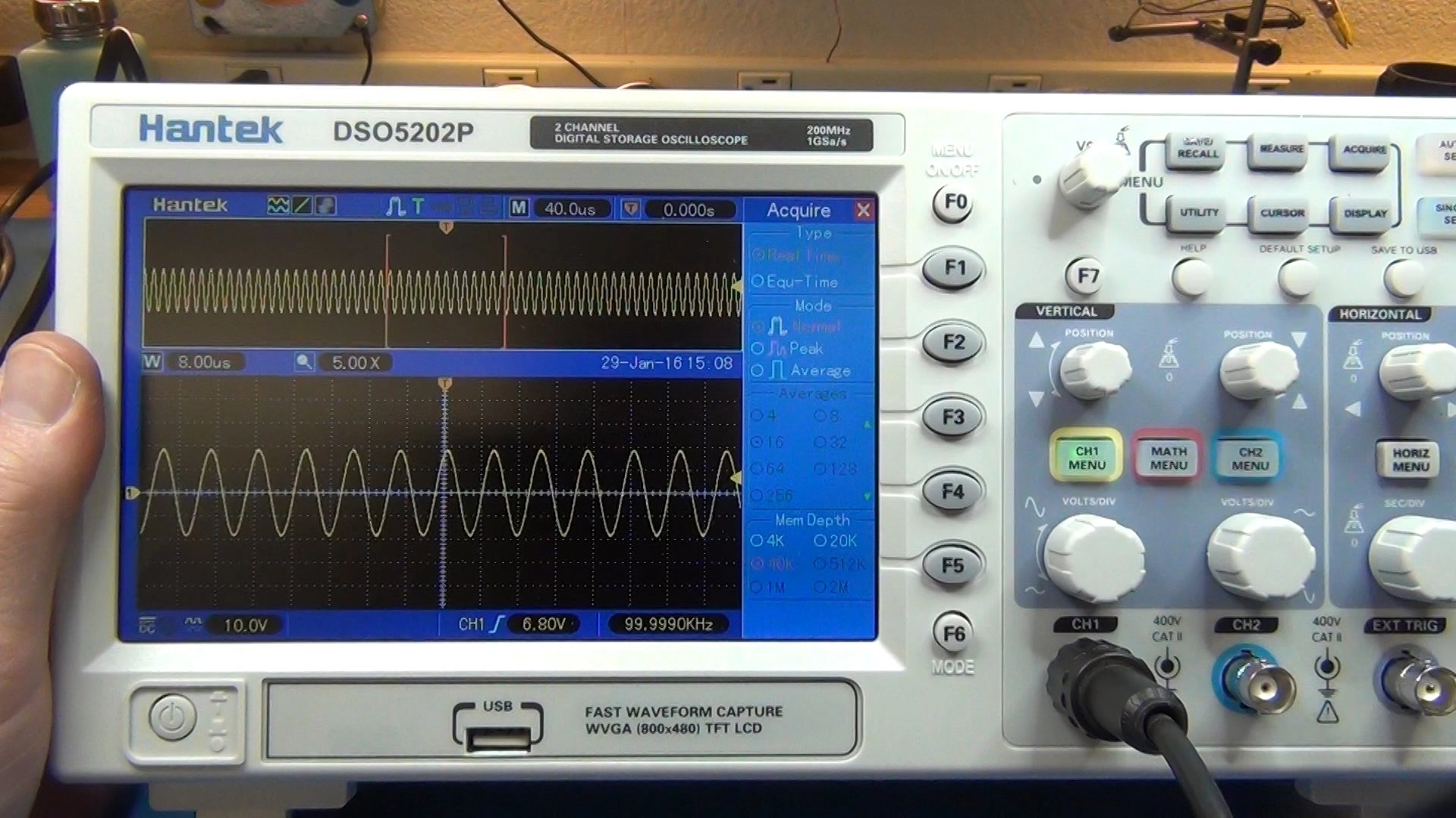 Taking Measurements with an Oscilloscope | Simply Smarter