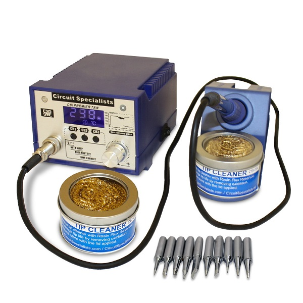 Circuit Specialists CSIPremier 75w Soldering Station - CSI Blog