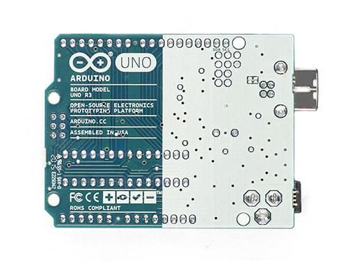 Arduino UNO R3 Back - Source: Arduino.cc