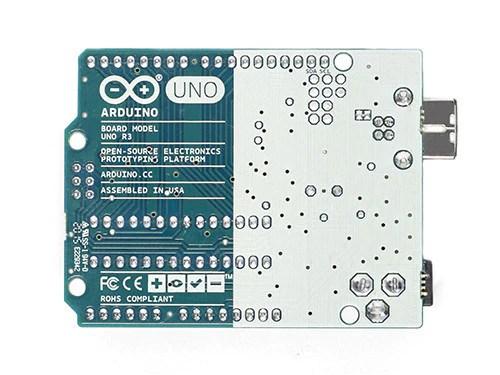 Arduino UNO R3 Back - Source: Arduino.cc
