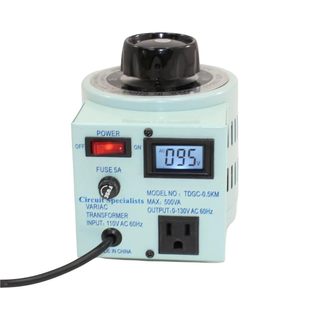 3 Popular Adjustable Voltage Transformers with Digital