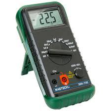Best Budget Multimeter | Mastech Nine-Range Digital Capacitance Meter