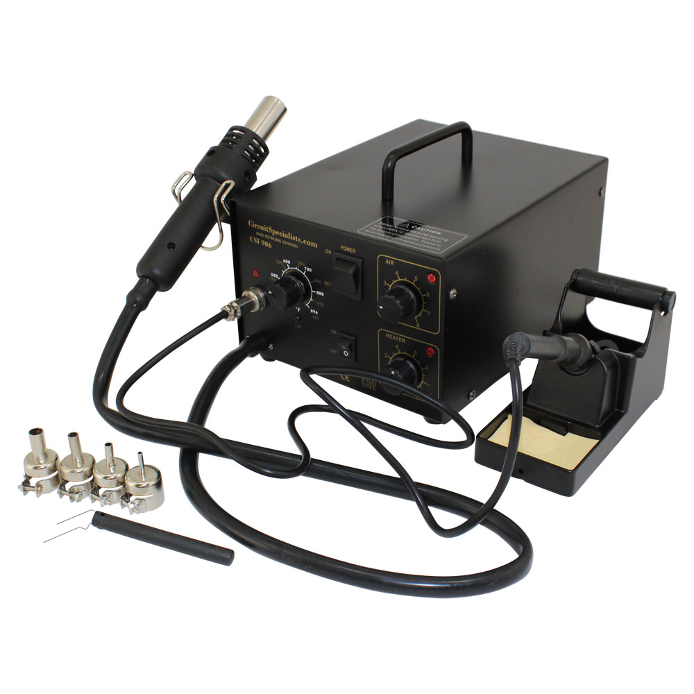 medium resolution of smd hot air station with integrated soldering iron