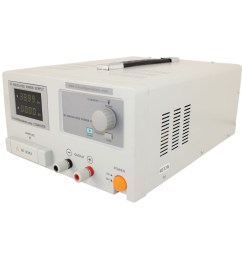 0 40 volt 0 10 amp dc bench power supply w adjustable current limiting [ 1000 x 1000 Pixel ]