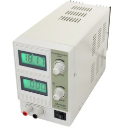 18 volt dc 2 0 amp linear bench power supply [ 1000 x 1000 Pixel ]