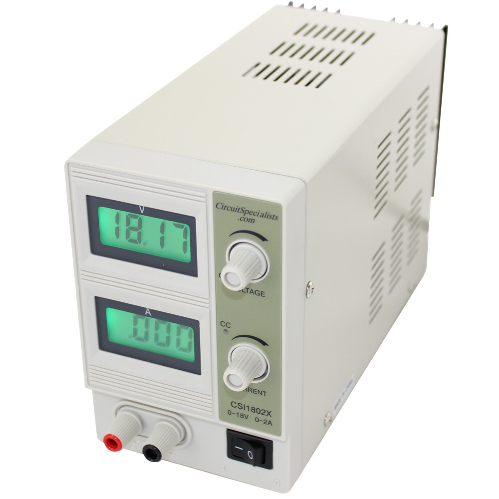 medium resolution of 18 volt dc 2 0 amp linear bench power supply