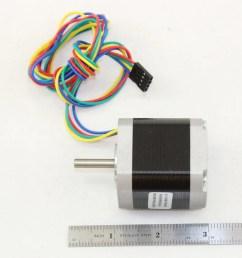 5 5 kg cm 4 wire nema 17 stepper motor with  [ 1000 x 1000 Pixel ]