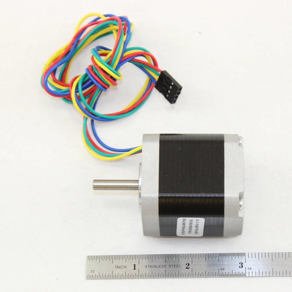 medium resolution of  5 5 kg cm 4 wire nema 17 stepper motor with