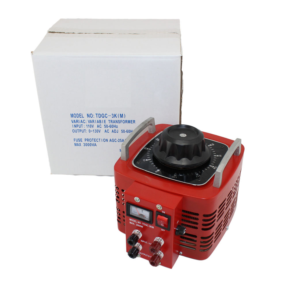 hight resolution of  variable autotransformer with 30 amp max output