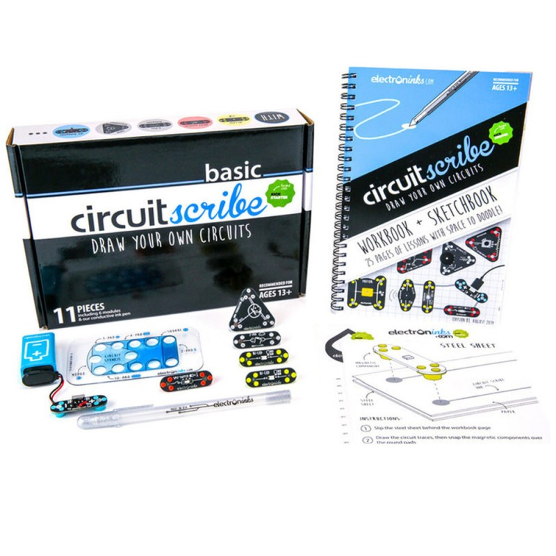 Circuit Scribe Basic Kit Plus - Circuit Specialists