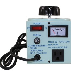 variable output autotransformer with 5 amp max output [ 1000 x 1000 Pixel ]