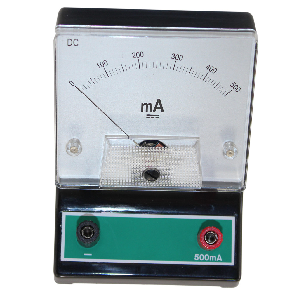 Educational Dc Ammeter 0500ma Circuit Specialists