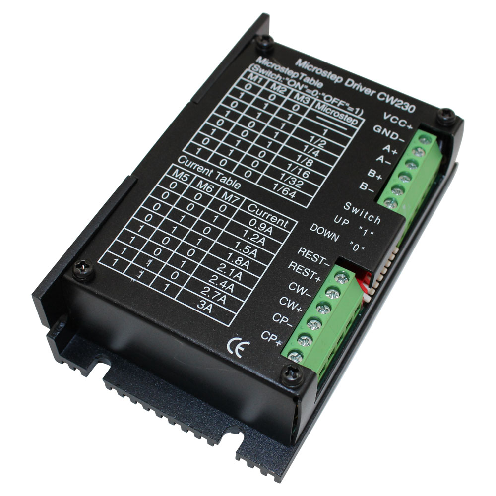 hight resolution of 24 36 volt dc and 0 9 3 0 amp stepper motor driver