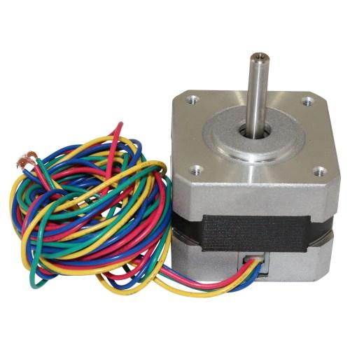small resolution of nema 17 stepper motor 2 4 kg cm 4 wire 42bygh011 2 4 kg cm 4