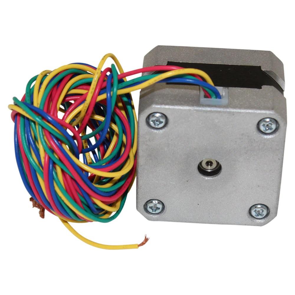medium resolution of nema 17 stepper motor 2 4 kg cm 4 wire 42bygh011 2 4 kg cm 4