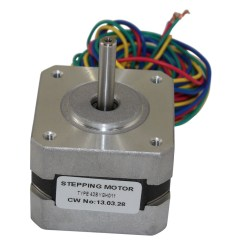 4 Wire Dc Motor Connection Diagram 2001 Ford Taurus Radio Wiring Stepper Motors Nema Controllers 2 Kg Cm 17