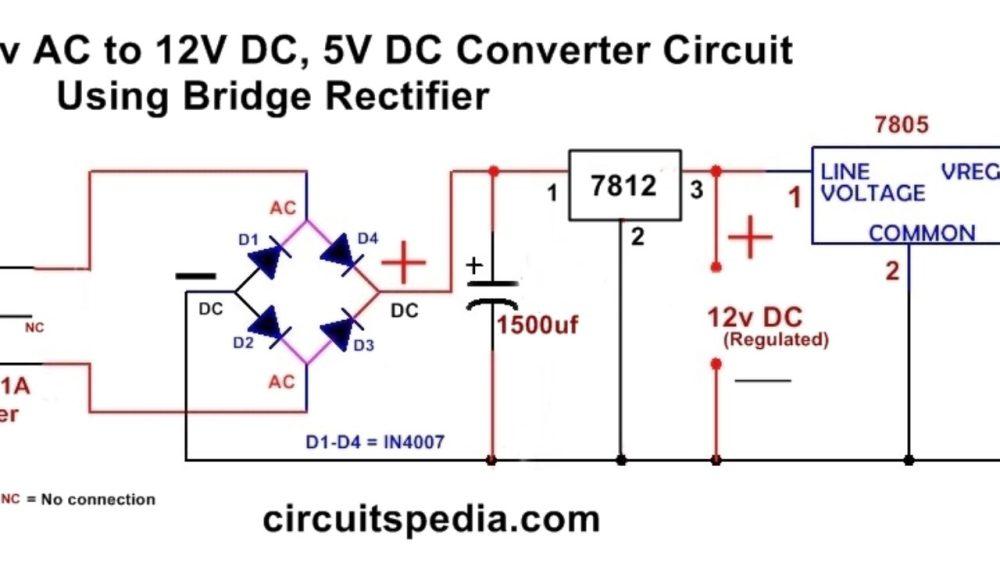 medium resolution of ac to dc converter wiring diagram