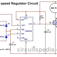 12v Wiring Diagram Fan Diagrams Ceiling Motor All Data Dc Speed Controller Circuit Relay