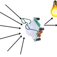 Pir Security Light Circuit Diagram 3 Way Switch With Pilot Wiring Circuitspedia-electronics Circuits And Projects