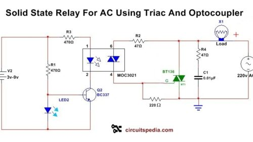 small resolution of solid state relay circuit diagram solid state relay circuit using triac schematic