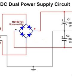 dc dual power supply circuit diagram 12v 15v 9v regulated dual power supply [ 1280 x 720 Pixel ]