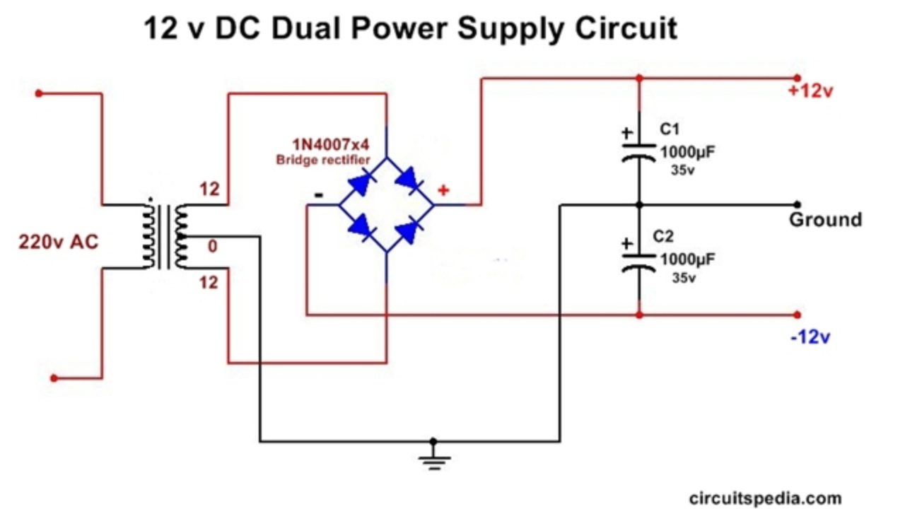 hight resolution of dc dual power supply circuit diagram 12v 15v 9v regulated dual power supply