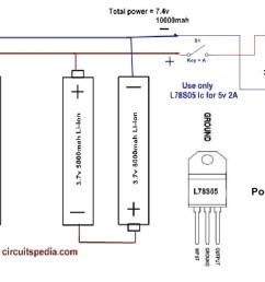 how to make power bank circuit [ 1257 x 644 Pixel ]