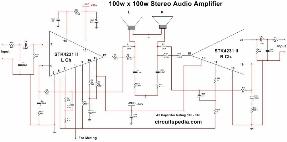 medium resolution of audio amplifier circuit electronic circuits schematics diagram audio amplifier circuit electronic circuits schematics diagram
