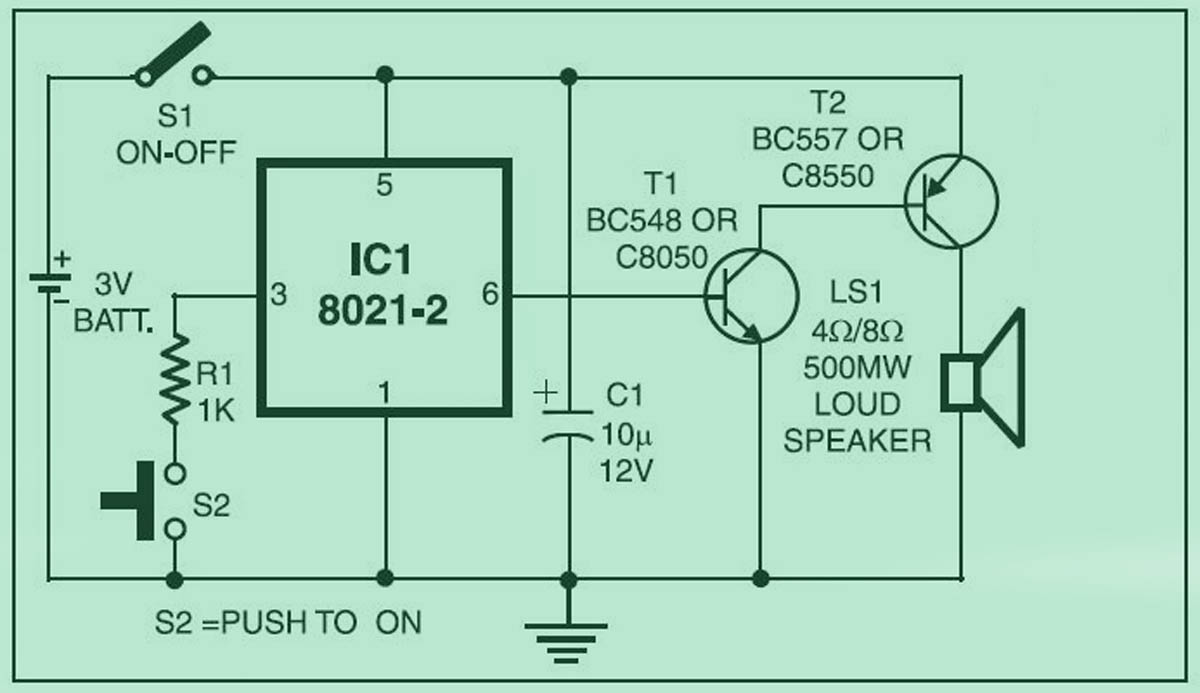dld mini projects circuit diagram 3d heart cross section student yuva simple ding dong bell jpg