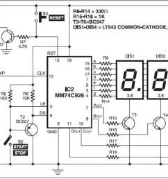 led clock wiring diagram [ 1300 x 661 Pixel ]