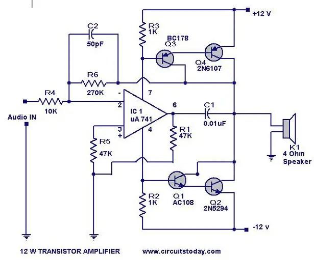 12 w transistor amplifier_circuit_ckt?resize\=615%2C511 pac wiring diagram 15 tac wiring diagram, honeywell wiring pac sni 15 wiring diagram at mifinder.co
