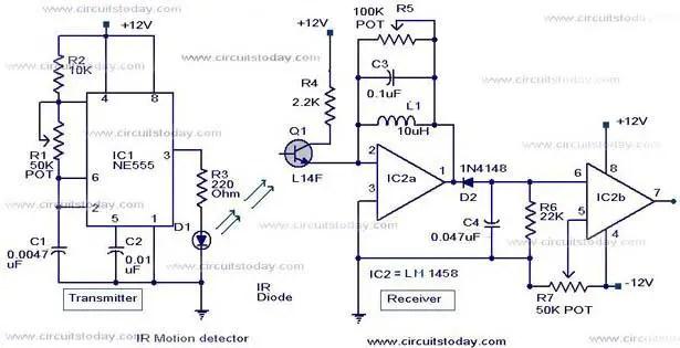 ir-motion-detector-circuit