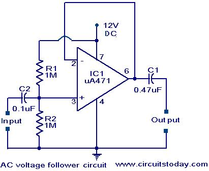 Amp Meter Wiring Diagram For Chevy Voltage Follower Circuit Electronic Circuits And