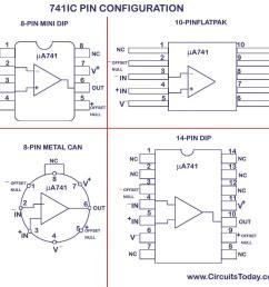 ua741 ic pin configuration [ 1000 x 873 Pixel ]
