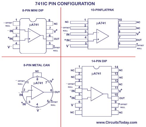 small resolution of ua741 ic pin configuration