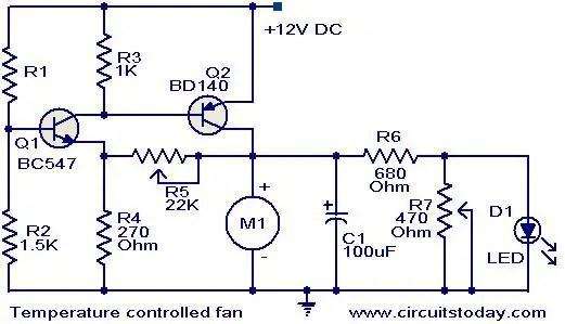 Dc Fan Wiring 12v Computer Fan 3 Wire Wiring Diagrams • Techwomen Co
