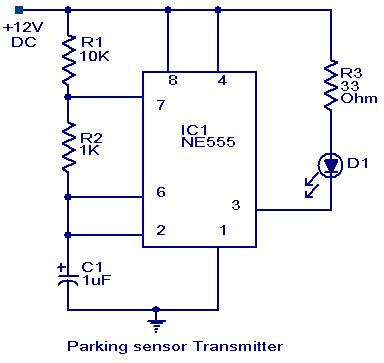 car wiring diagram symbols 1999 ford explorer engine parking sensor circuit - electronic circuits and diagrams-electronic projects design