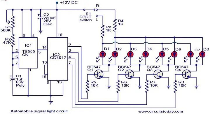 Automotive Lighting System Wiring Diagram Somurichcom