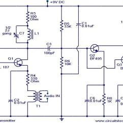Simple Am Receiver Circuit Diagram Headphone Jack Charm Transmitter V9 Schwabenschamanen De Long Range Electronic Circuits And Diagrams Rh Circuitstoday Com