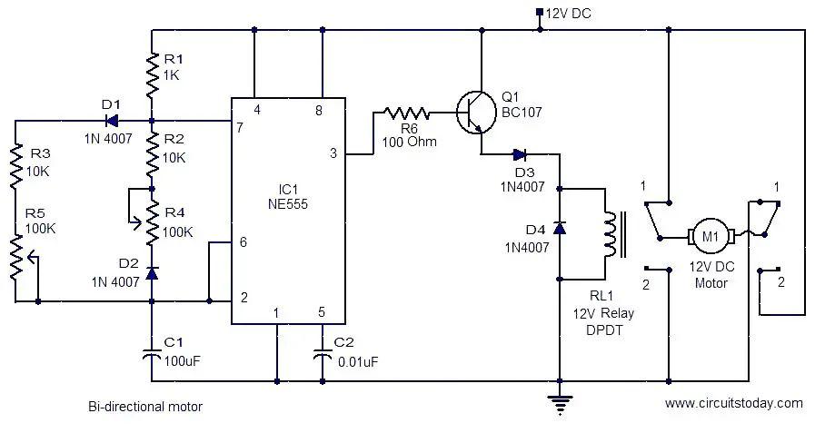 bi directional motor