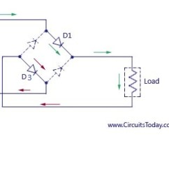 Full Wave Bridge Rectifier Wiring Diagram A Heat Pump Rectifier-bridge Rectifier-circuit With Design & Theory