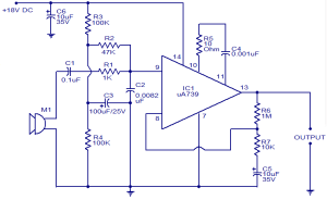 Preamplifier for dynamic microphones  Electronic