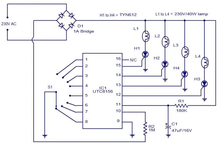 miniature christmas lights wiring diagram led christmas lights circuit diagram | decoratingspecial.com