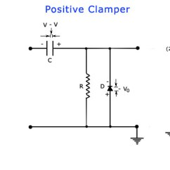 Circuit Diagram Of Clipper And Clamper 1991 Honda Civic Electrical Wiring Schematics >diode Clamping Circuits | Today's