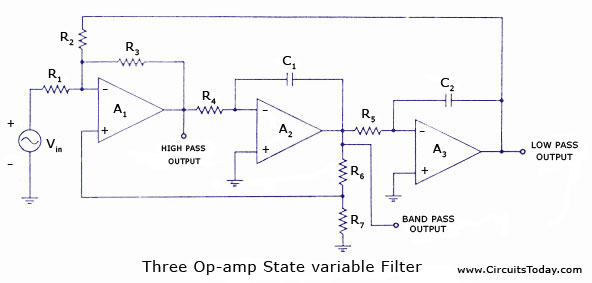 how to solve circuit diagrams solex 30 pict 1 diagram state variable filters - electronic circuits and diagrams-electronic projects design