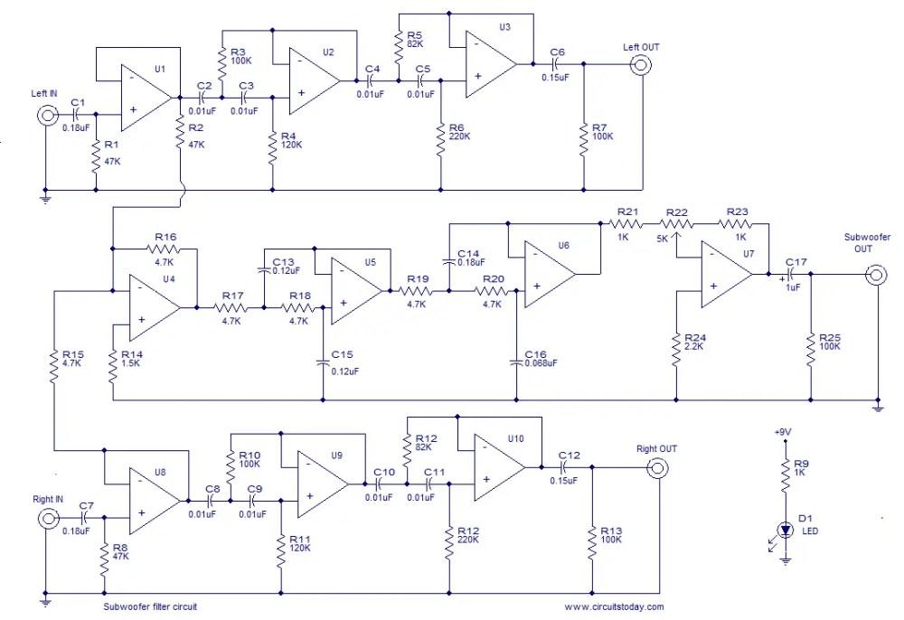 medium resolution of subwoofer filter
