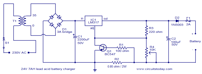 schematics diagrams 12v 3a battery charger schematic  wire