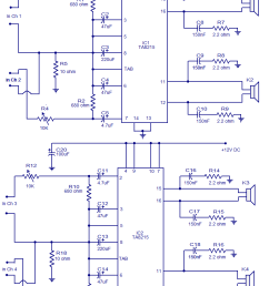 4x15w amplifier circuit [ 813 x 1185 Pixel ]